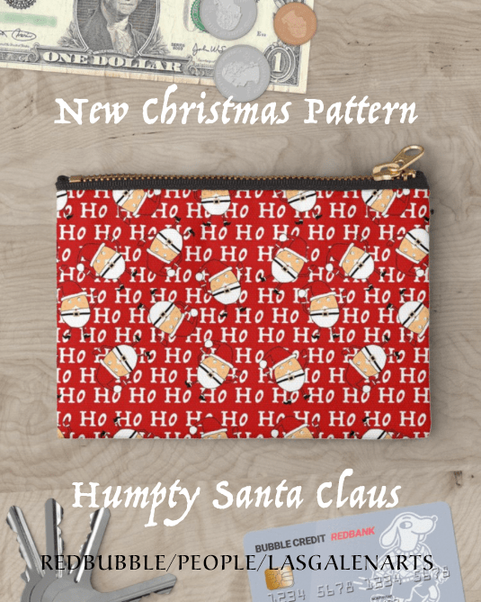 Humpty silly santa claus gift ideas include this cute ho ho ho humpty silly santa claus gift ideas include this cute ho ho ho pattern and santa claus design found on bags clothes and much more this original design negle Images