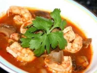 Resep Tom Yam Seafood Udang Thailand Paling Sederhana Masakan Resep Sederhana