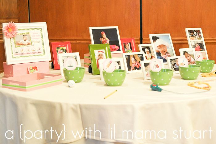 {BN Black Book of Parties} Pink and Green Polka Dot 1st Birthday   A Blissful Nest