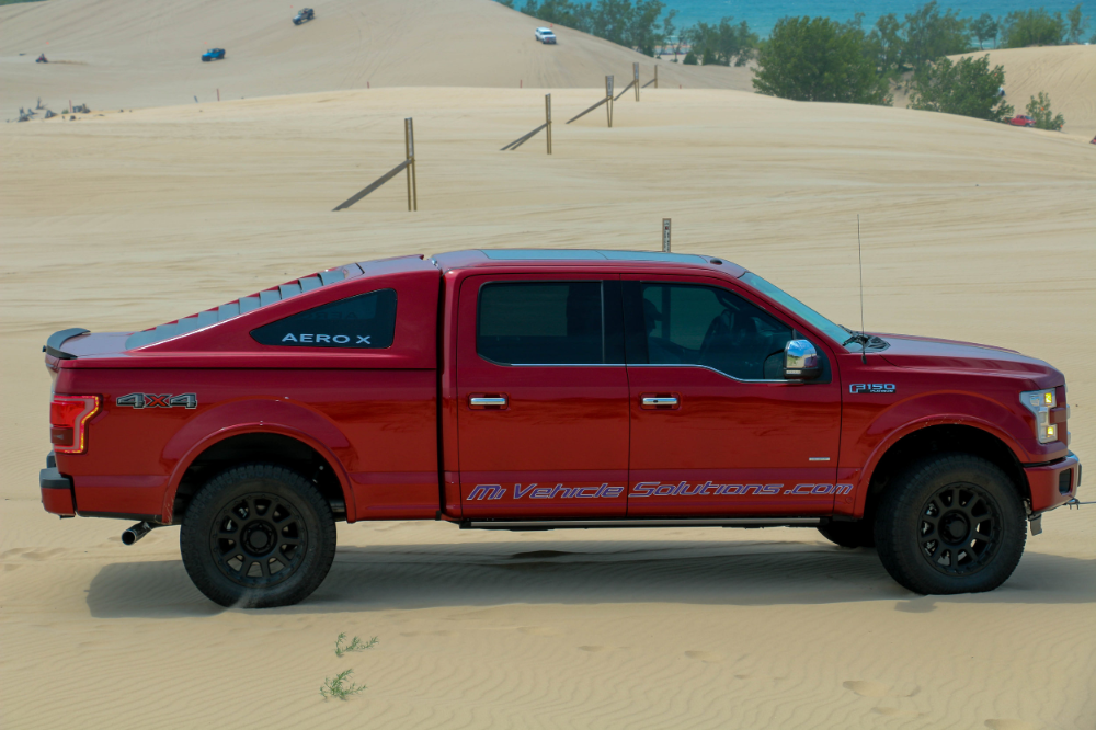 Michigan Vehicle Solutions In 2020 Truck Caps Ford F150 Trucks