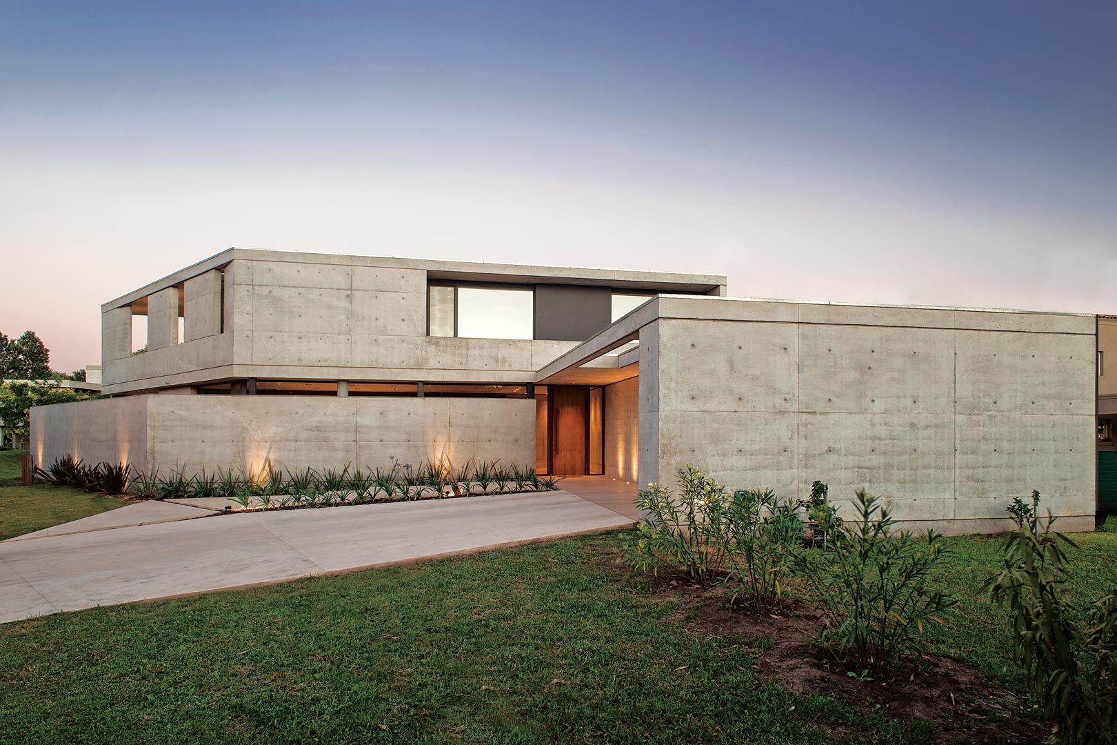 Amado cattaneo arquitectos casa chia in 2019 dream house casas casas modernas - Arquitectos casas modernas ...