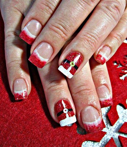 Ho Ho Ho Nail Art Gallery By Nailsmag Nailart Christmas