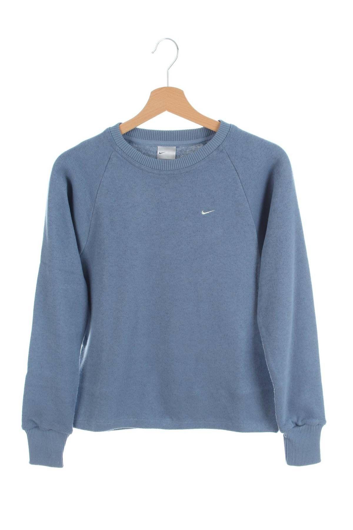 Vintage 90s Nike Small Swoosh Sweatshirt Blue Size S New With Tags Sweatshirts Retro Sweatshirts Vintage Sweatshirt [ 1800 x 1200 Pixel ]