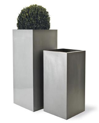 Capital Garden Geo Square Planter is part of Square garden Planters - For over twenty years Capital Garden's skilled designers and craftsmen have produced decorative fiberglass plant containers that even the keenest eye cannot distinguish from the original materials  Their cleverly replicated terracotta, lead, bronze and copper in a diverse collection ranging from small traditional planters to huge sleek contemporary plant pots make them perfect for any home or decor  Fiberglass is an excellent lightweight choice for roof gardens or balconies, completely frost proof and noncorrosive, and suitable for indoor or outdoor use all year round  Enjoy the Geo Square Planter in your garden today! The Geo Square planter range has been developed due to popular demand  The geometric simplicity of the design with the different available heights make it very desirable These tall planters are used to great effect when height is needed to create impact and add structure in a garden or on a balcony or roof terrace Measurements Small 11 8in width x 11 8in depth x 23 6in height Medium 13 8in width x 13 8in depth x 31 5in height Large 18 1in width x 18 1in depth x 39 4in height