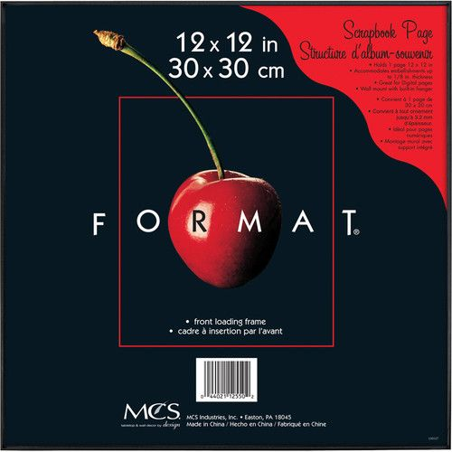 Mcs Format Frame 12 X 12 Black In 2020 Affordable Frames Album Frames Picture Frames Online
