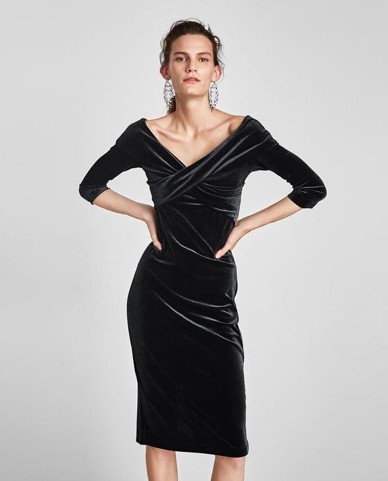 23d37c00b98d Image 2 of VELVET TUBE DRESS from Zara | shopping spree | Tube Dress ...