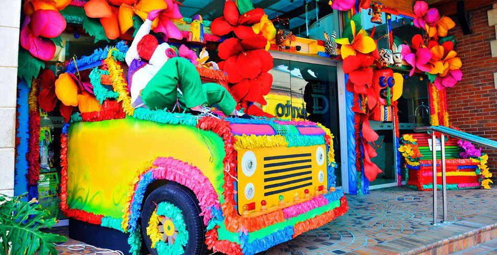 Decoracion centros comerciales en el carnaval de - Decoracion de carnaval ...