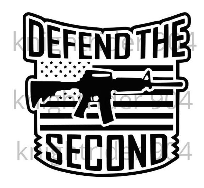 Download Defend the Second Amendment SVG/PNG | Etsy in 2020 | Vinyl ...