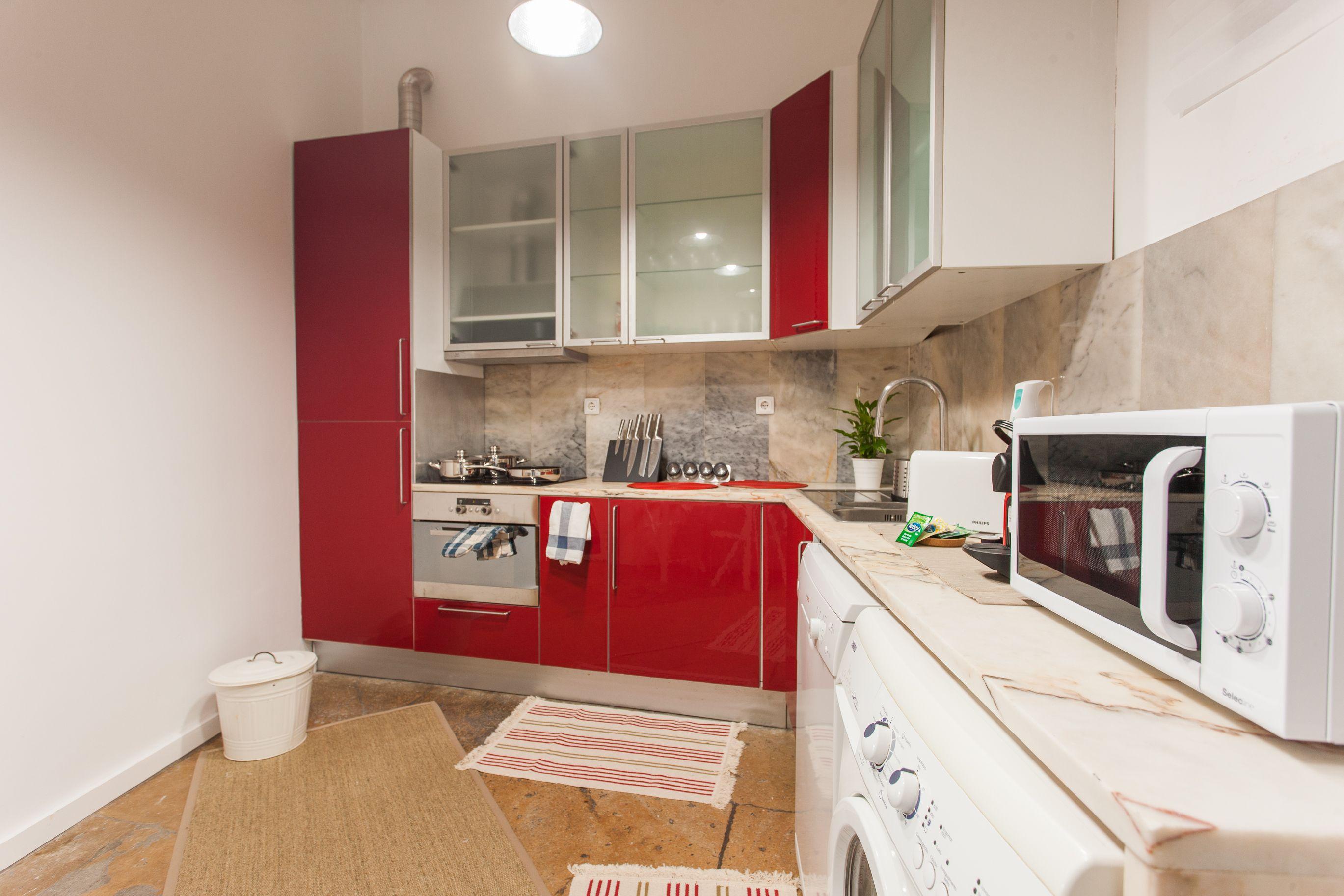 Cozinha ducastro apartment rua cais de santarém nº ºesq no