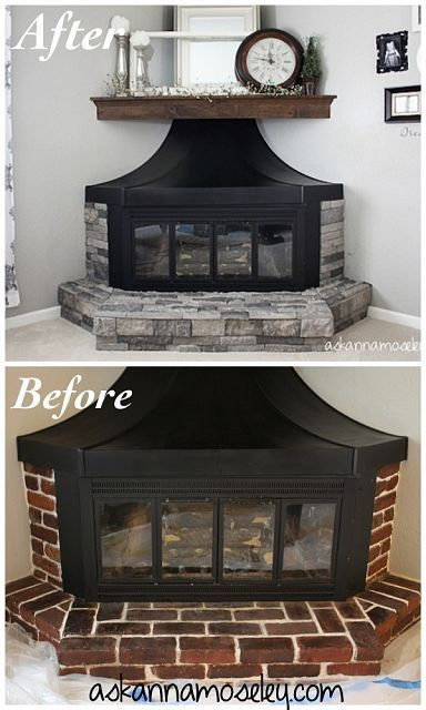 DIY Projects and Ideas for the Home Fireplace surrounds