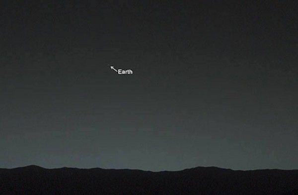 Earth, As Seen From Mars