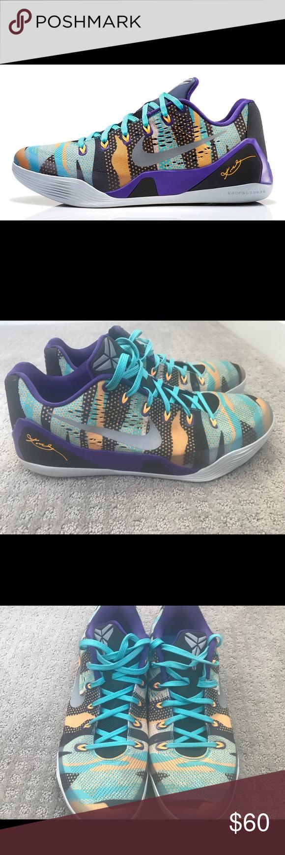 6ca321d23d62 Nike Kobe 9 EM Pop Art Camo sz 11.5 Nike Kobe 9 EM Pop Art Camo sz ...