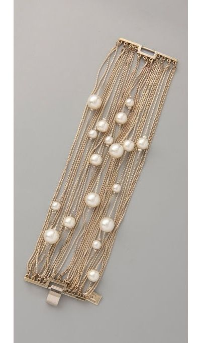 The Perfect Multi Strand Pearl Bracelet Diy Jewelry In 2018