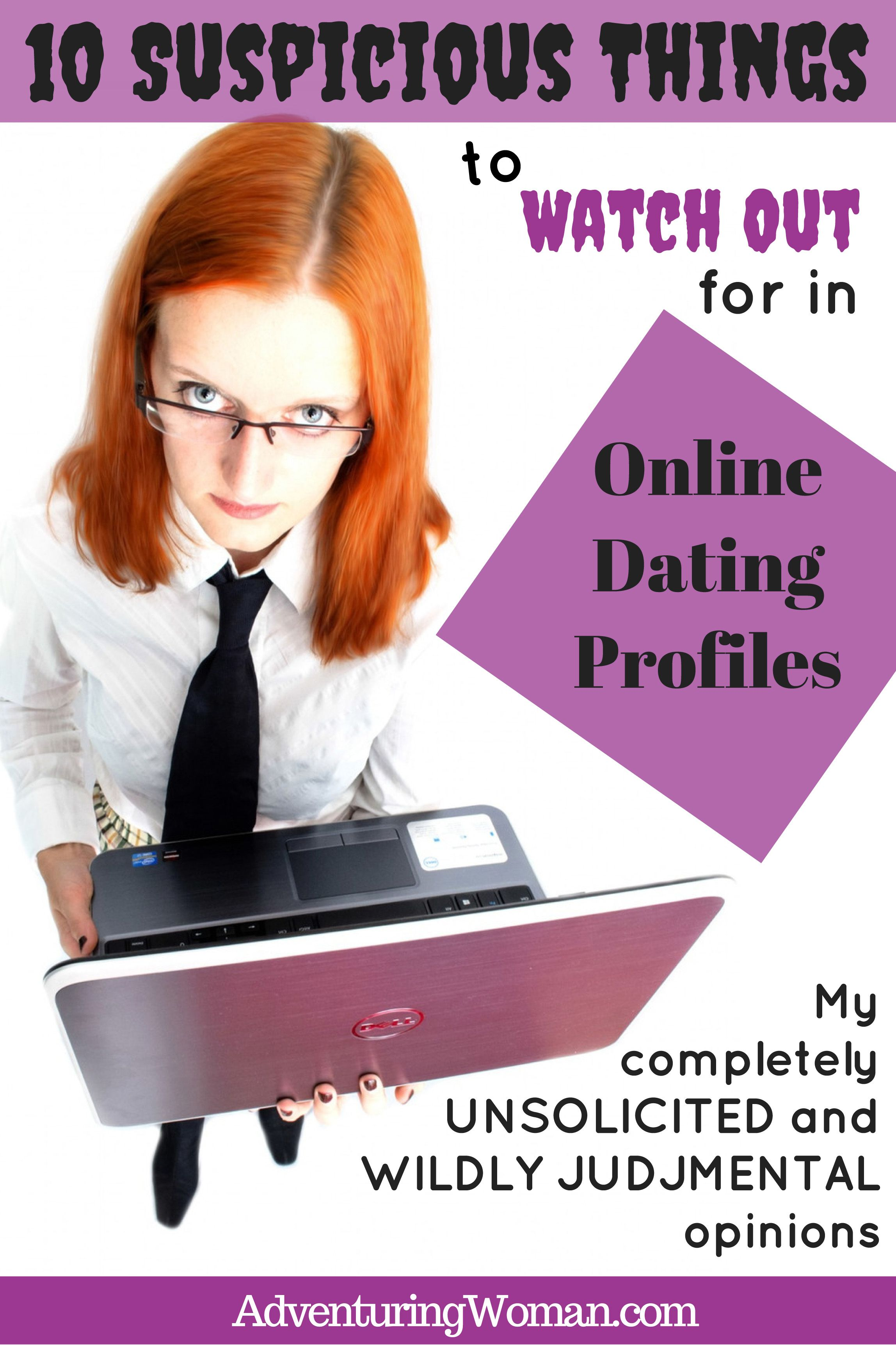 Things to watchout for when online dating