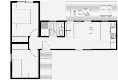 Casas em formato de l pesquisa google plantas de casas - Fotos de casas en forma de l ...