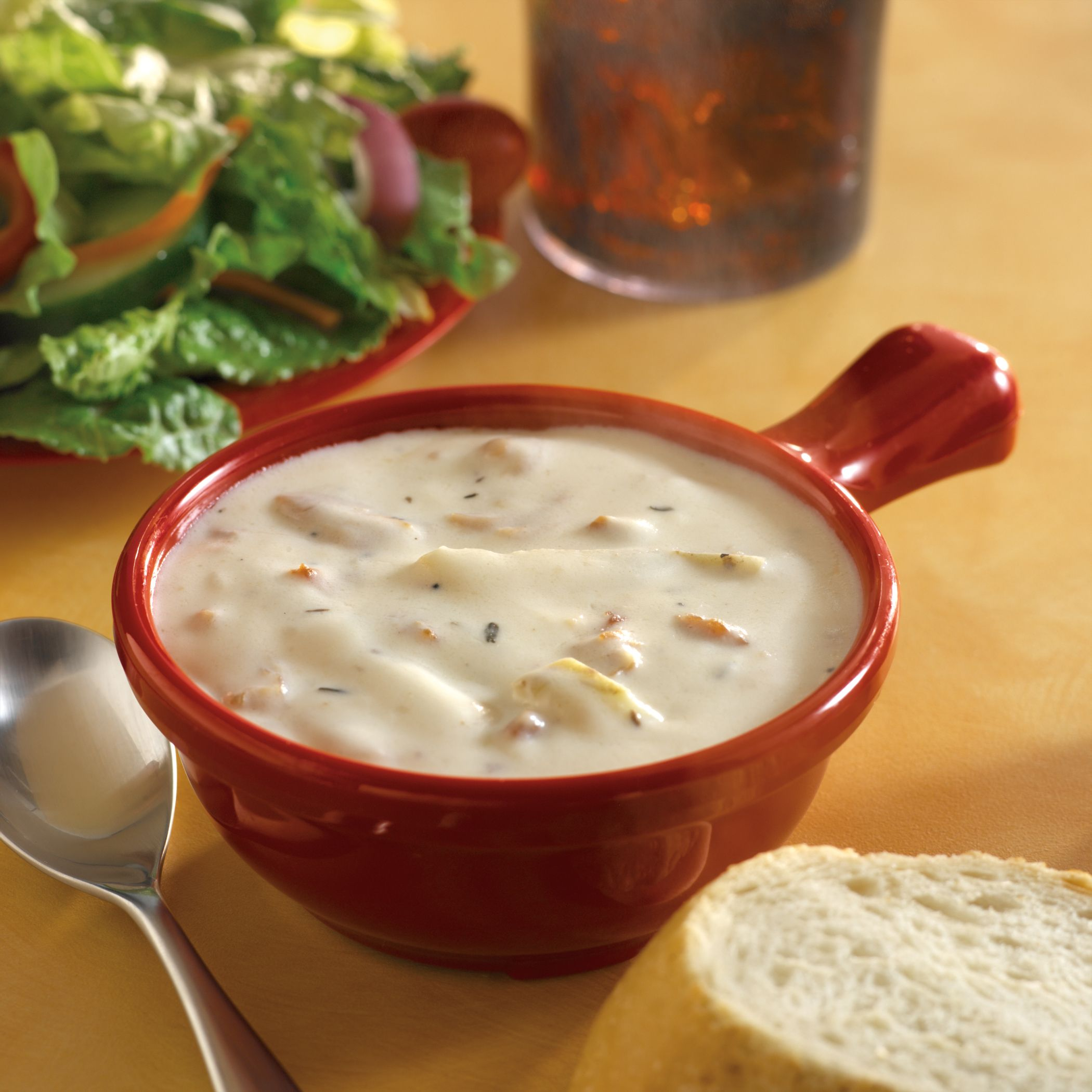 Clam Chowder At Souplantation And Sweet Tomatoes Served Every