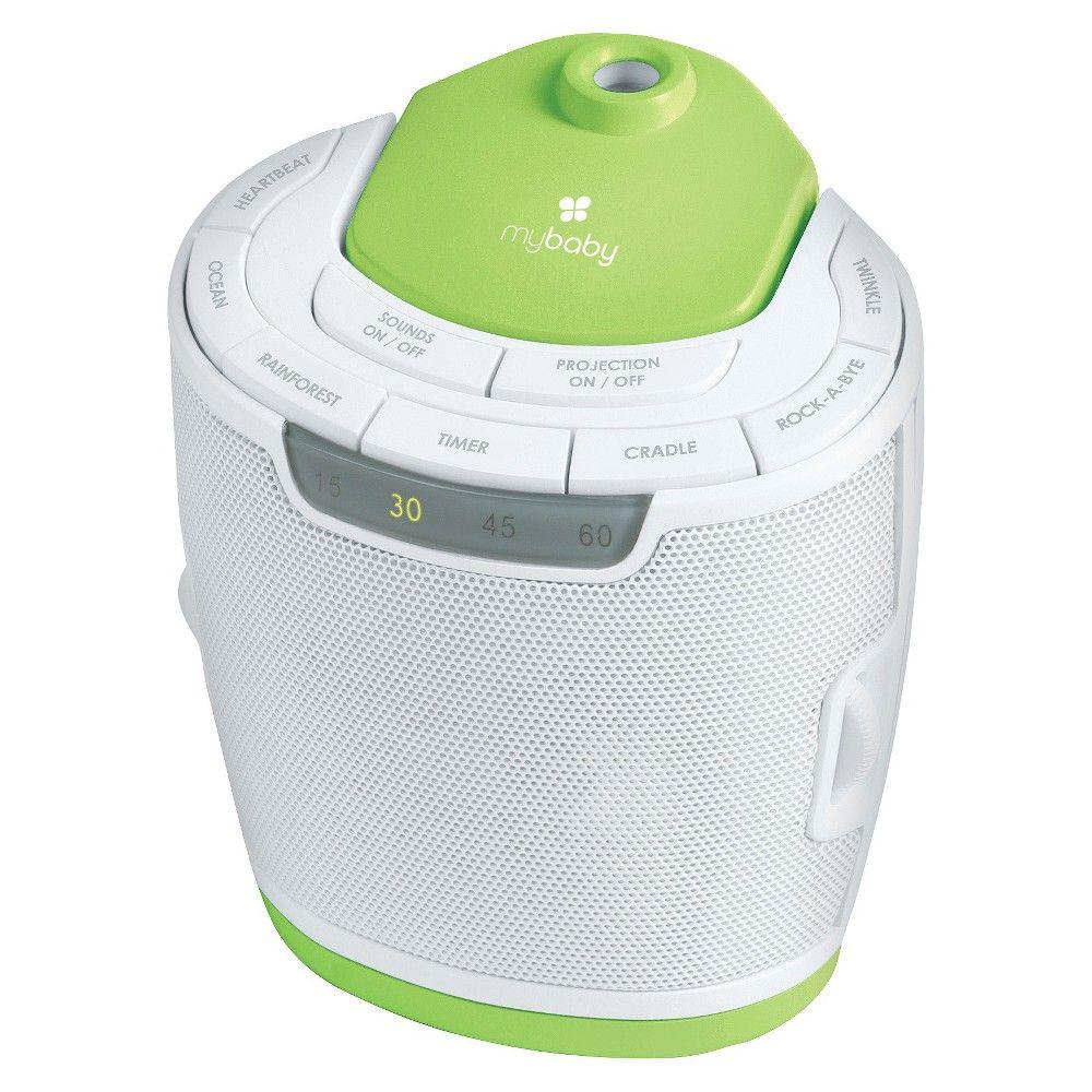 MyBaby by Homedics SoundSpa Sound Machine - Lullaby Relaxation Machine,
