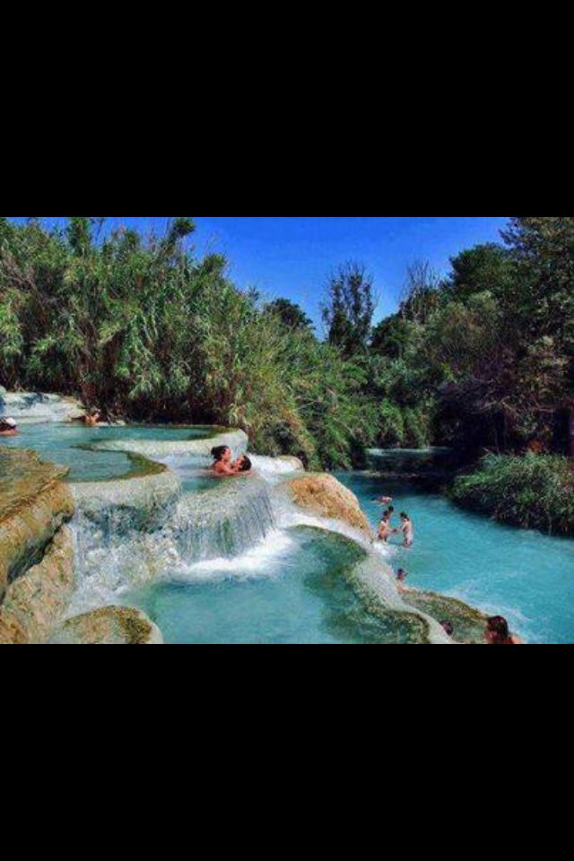 Natural Jacuzzi in Saturnia Italy