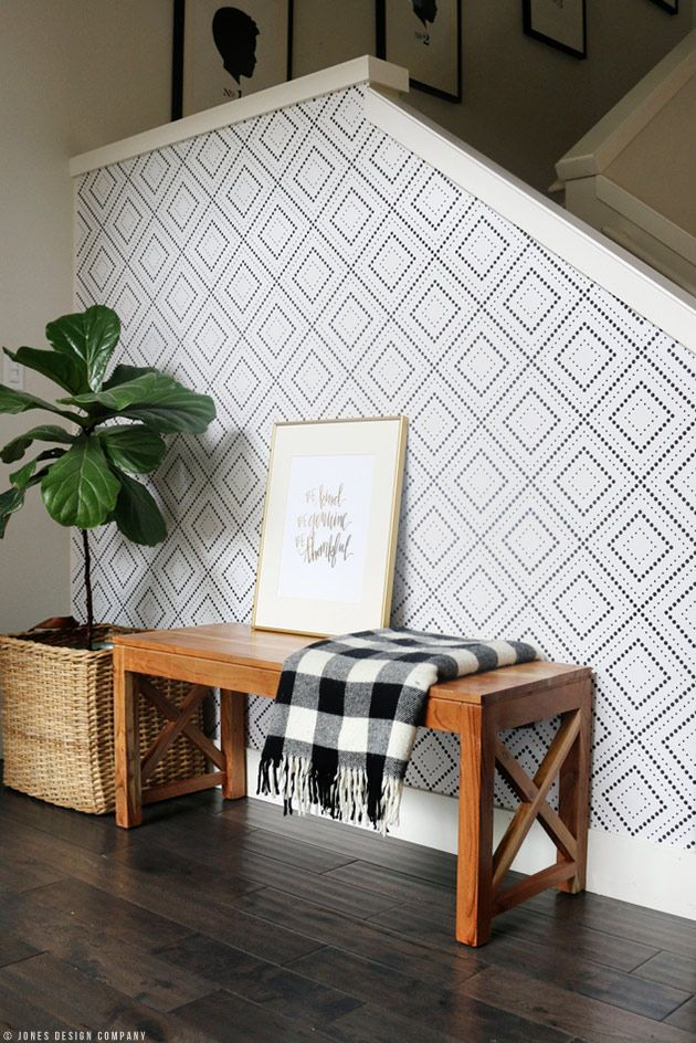 How I Installed Wallpaper All By Myself In Just A Few Hours Jones Design Company Home Decor Trends Home Decor Trending Decor