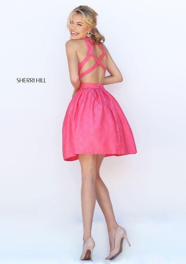 Sherri Hill 50293 | ffffff | Pinterest | Baile de graduación, Faldas ...