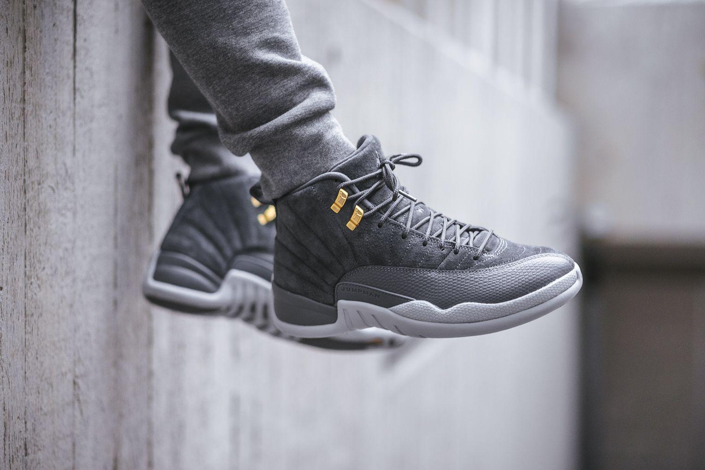 f5edec30719 We re Days Away From The Release Of The Air Jordan 12 Dark Grey ...