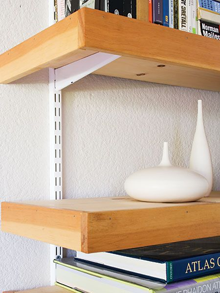 Easy floating shelves - MyHomeIdeas.com
