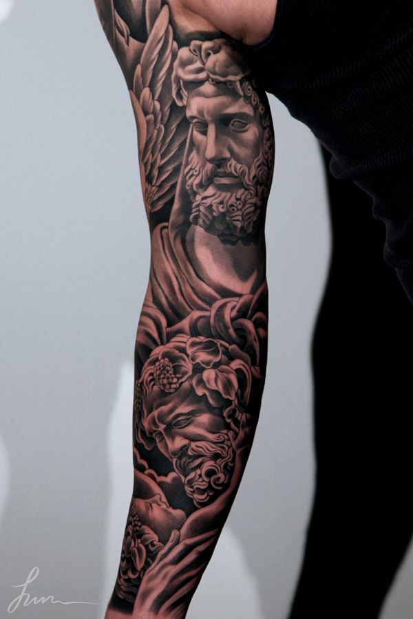 Hercules Tattoo Sleeve Google Search Tatouages Styles Barbes