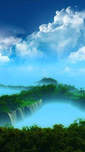 Beautiful Waterfall Wallpaper Nature Beautiful Waterfalls Beautiful Nature
