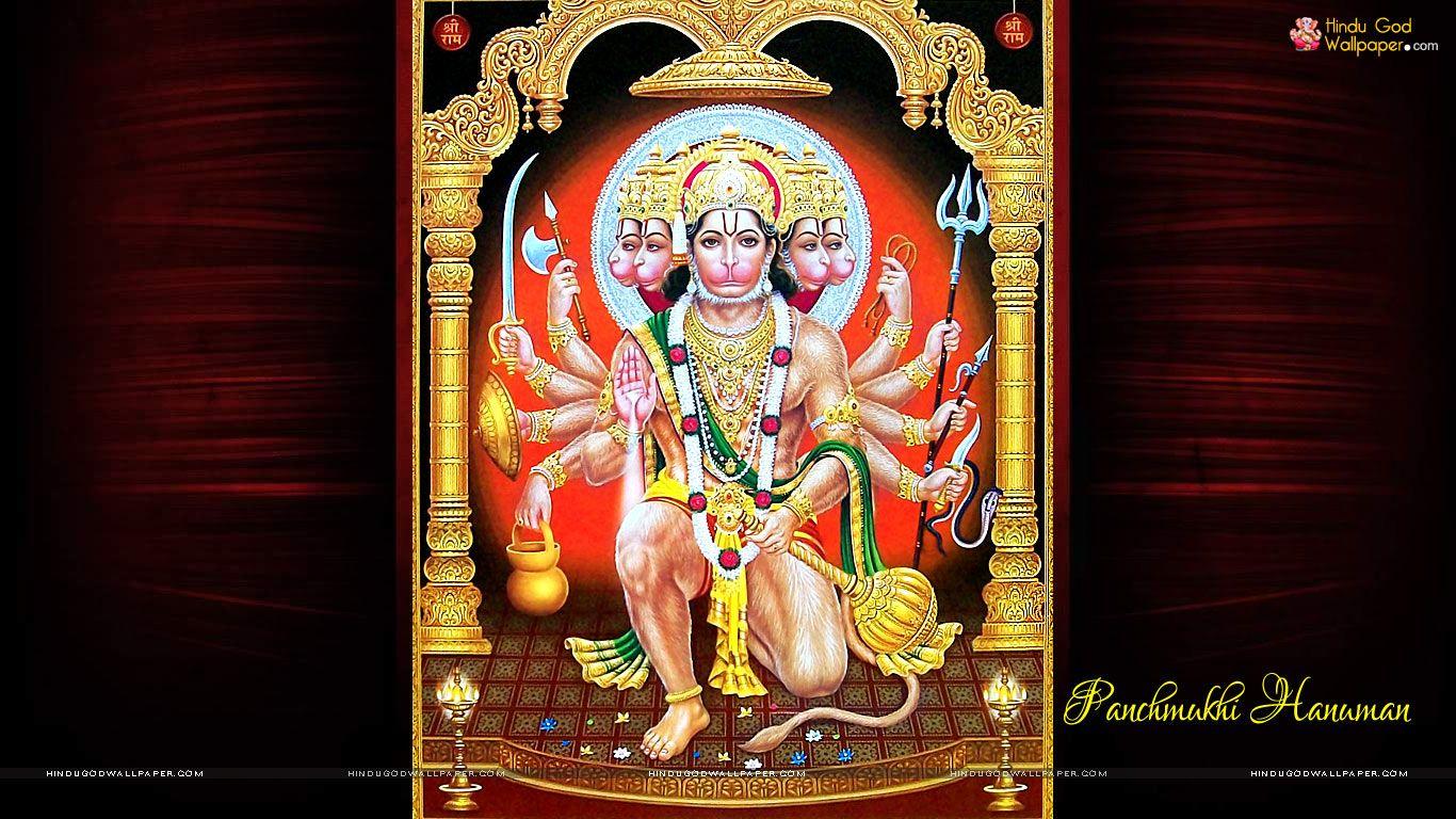 Panchmukhi Hanuman Ji Wallpaper For Desktop