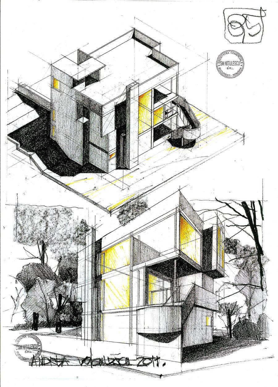 Smith House By Dedeyutza Sketches Pinterest Architektur Haus