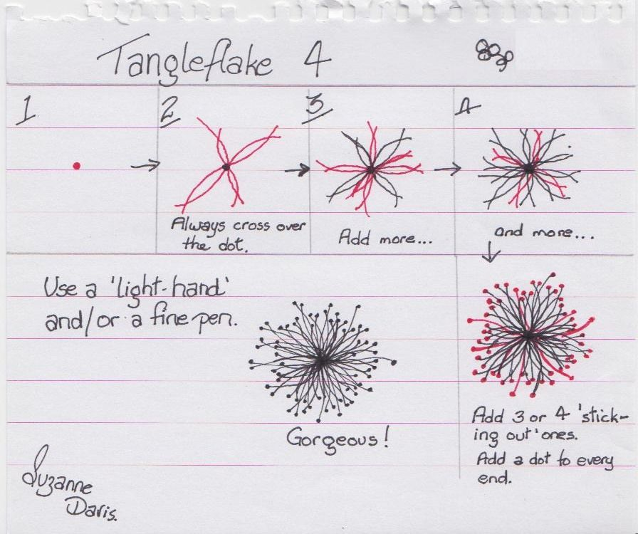 Tangleflake 4 | Flickr - Photo Sharing!