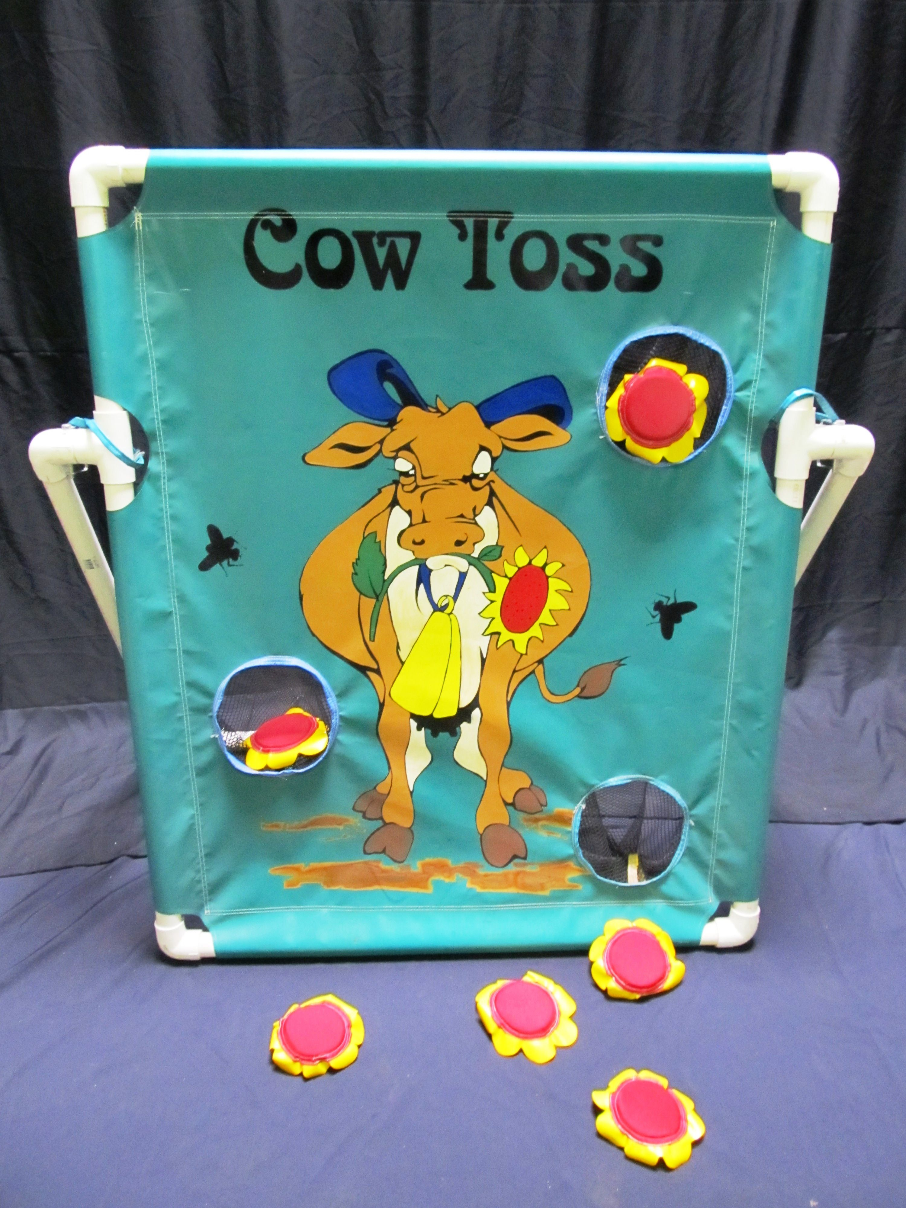 Cow toss chicago party rentals carnival games corporate