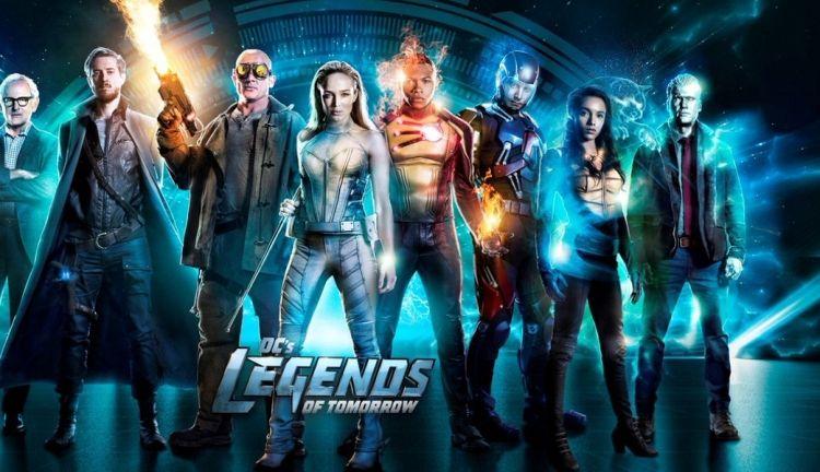 Легенды завтрашнего дня постер   Dc legends of tomorrow, Legend, Legends of  tommorow