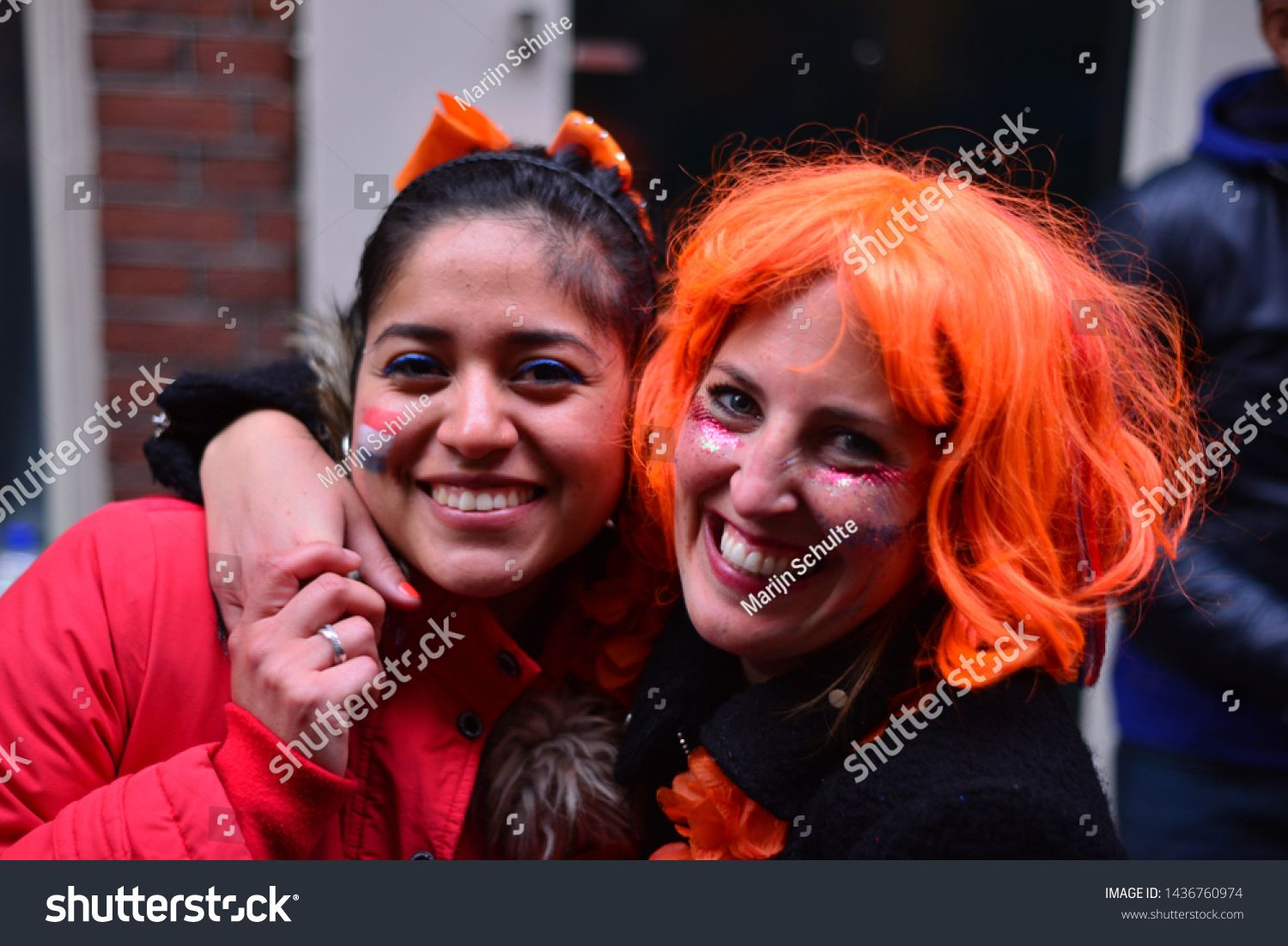 Amsterdam Netherlands April 27th 2019 King S Day Is A National Holiday In The Kingdom Of The Netherland In 2020 Kingdom Of The Netherlands Stock Photos Celebrities