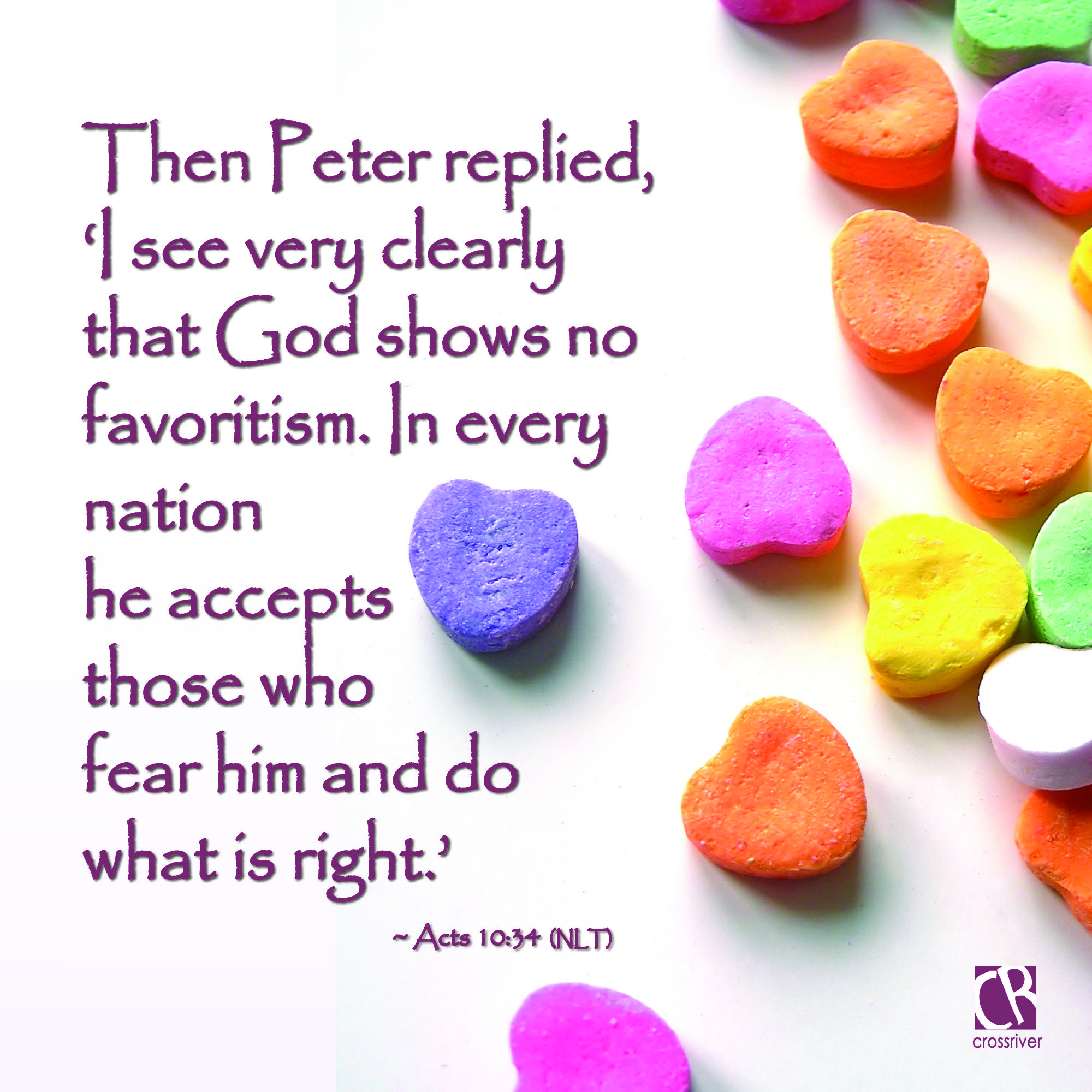 Then peter replied i see very clearly that god shows no scriptures sciox Image collections
