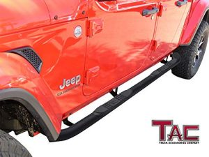 Tac 3 Inch Off Road Jeep Gladiator Side Steps Jeep Gladiator Jeep Truck Accessories