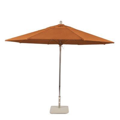 Amauri Outdoor Living, Inc 11' Newport Coast Market Umbrella Color: Tuscan