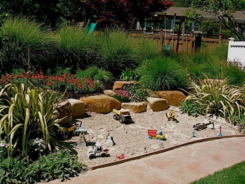 Cool Sandbox Ideas Backyard For Kids Play Garden Backyard