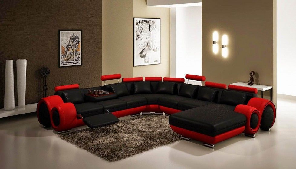 download minimalist interior design decorating with black red modern