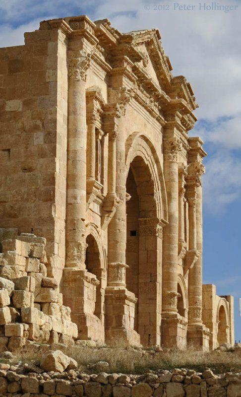 Puerta de Adriano, Jerash, Siria