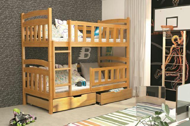 Etagenbett Unten Doppelbett : Etagenbett amarillo mit rutsche spielspaß auf schmalem raum