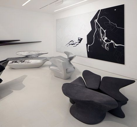 Zaha Hadid Design Gallery Opens To The Public | Zaha Hadid Design