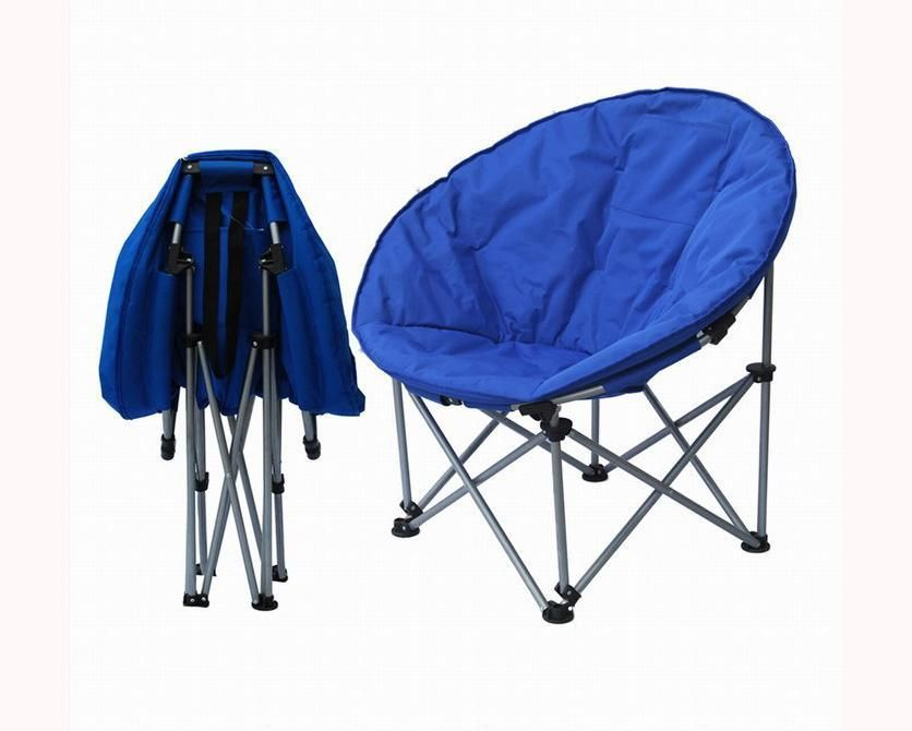 Folding Camping Chair Lawn Chairs Portable Moon