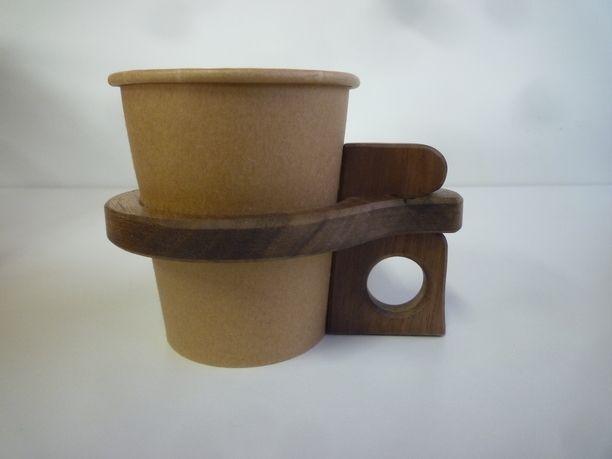 Tetoteはハンドメイドマーケットminneにサービスを統合いたしました カップホルダー ドリンクホルダー 木工品