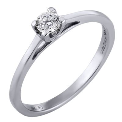 The Forever Diamond 18ct White Gold Diamond Ring H Samuel the
