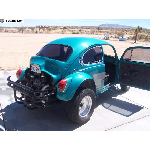 VW Baja Bug, My Dad Had A Few Of These, They Could Go