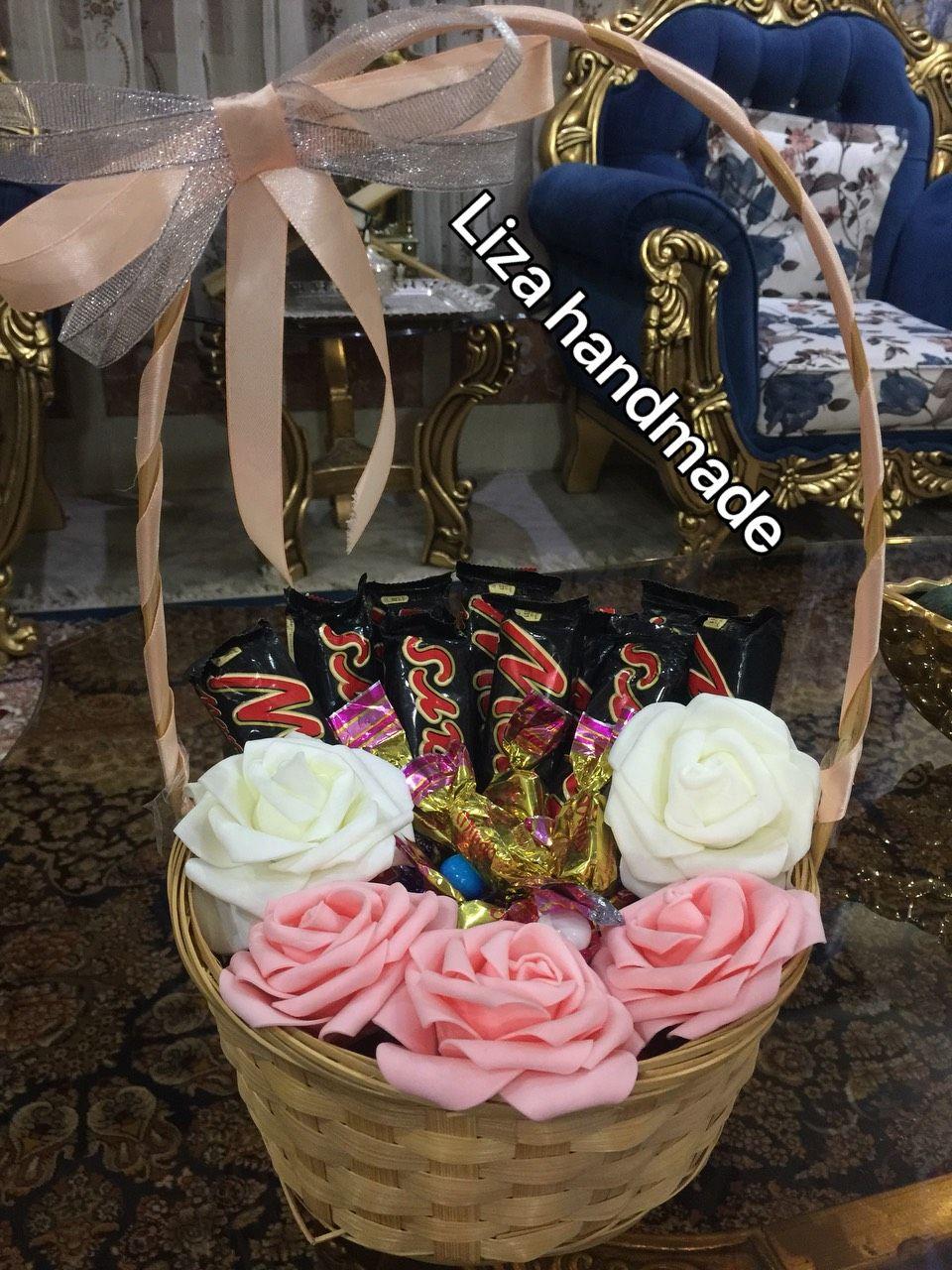 سلة حلويات Gift From Diaper Cake Handmade Cake