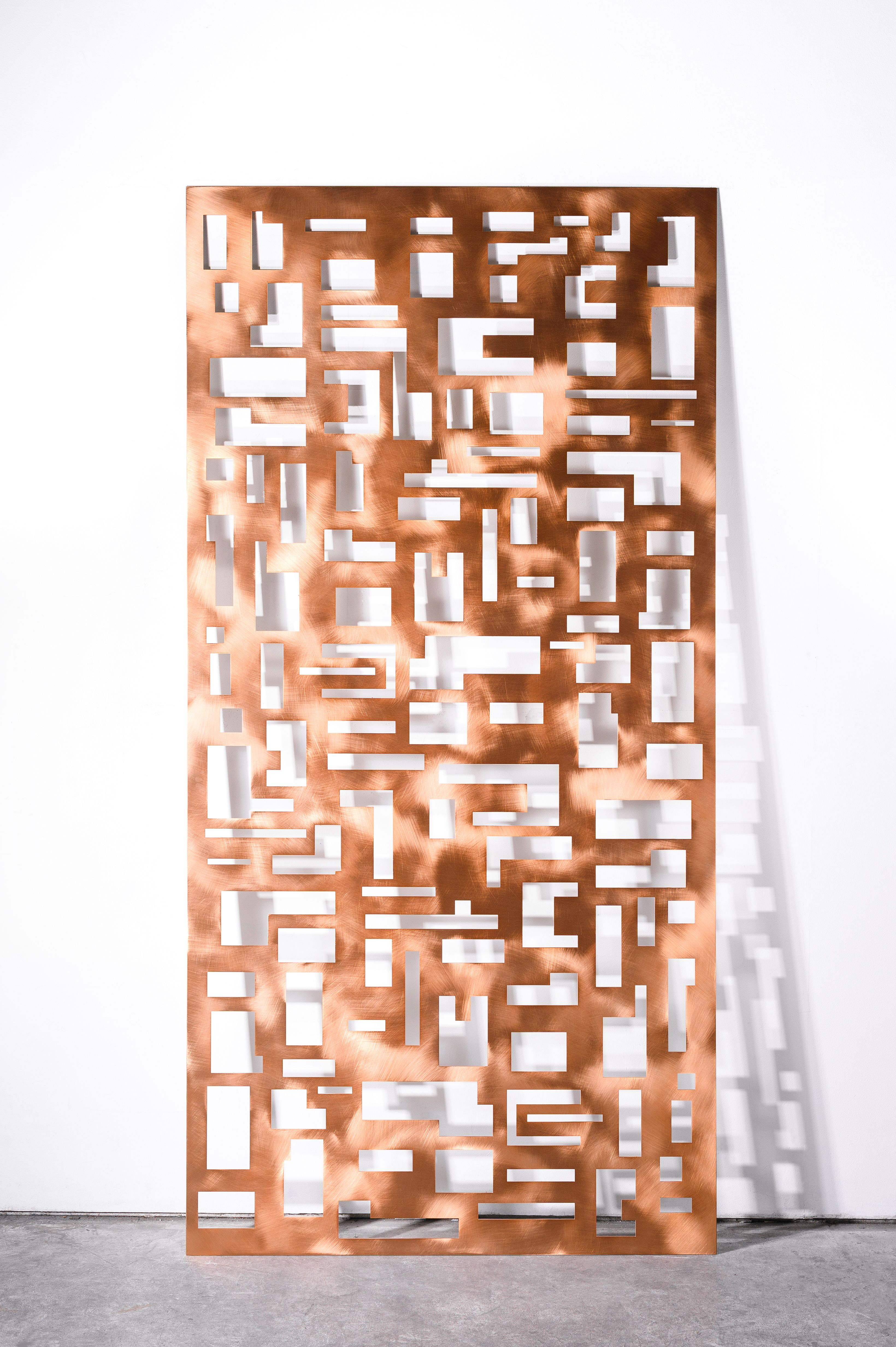 Copper Accent Wall Laser Cut Metal Sheets Welding Projects Copper Wall