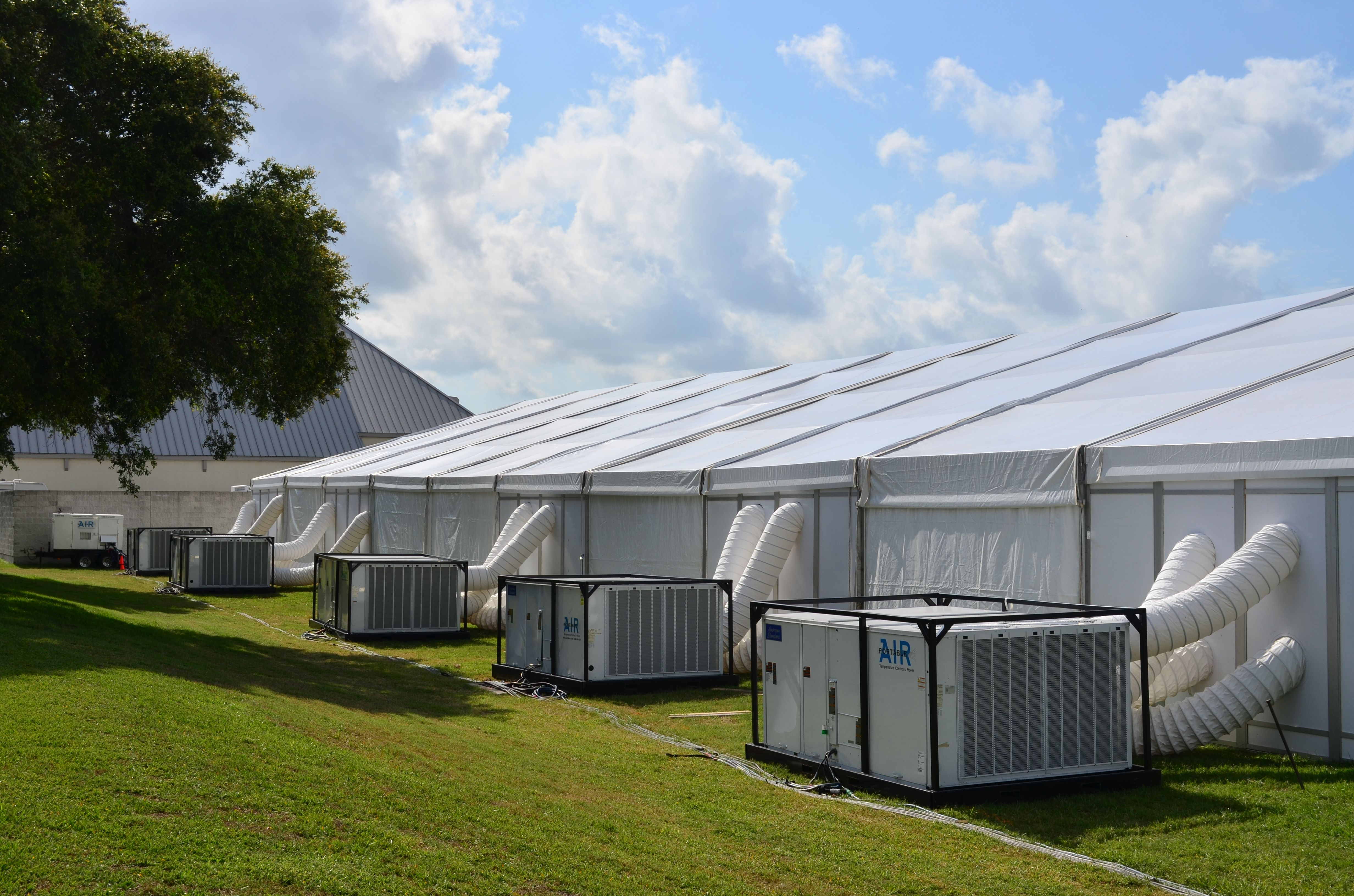 Tent Event Kennedy Space Center Lunabotics Competition