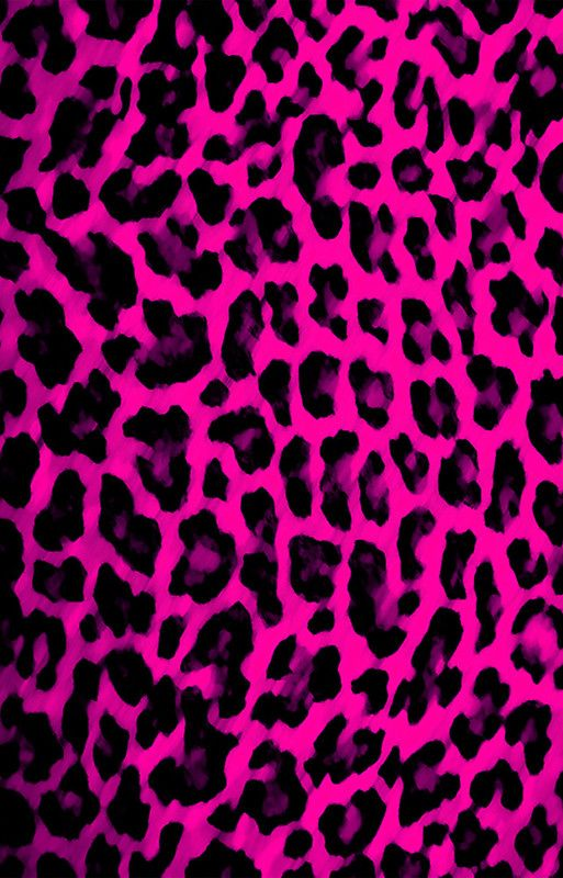 Hot Pink Leopard Print Iphone 12 Soft By Brattigrl Hot Pink Leopard Print Animal Print Background Cheetah Print Wallpaper